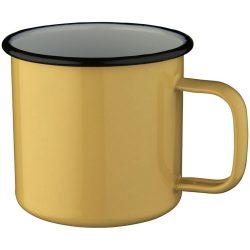 Campfire mug, Enamel,  Cream