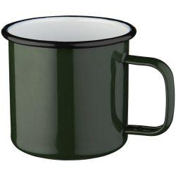 Campfire mug, Enamel, Green