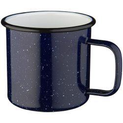 Campfire mug, Enamel, Blue,White