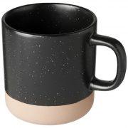 Cana ceramica 360 ml, Everestus, 9IA19110, Ceramica, Negru