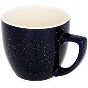 Cana ceramica 325 ml cu finisaj patat, Everestus, 20IAN1171, Albastru