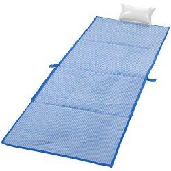 Rogojina pliabila pentru plaja 170x60 cm, Everestus, BI02, pp plastic, albastru inchis
