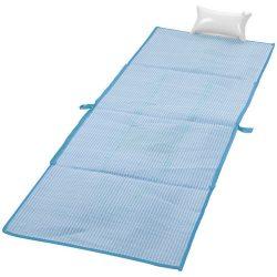 Rogojina pliabila pentru plaja 170x60 cm, Everestus, BI01, pp plastic, albastru deschis, saculet inclus