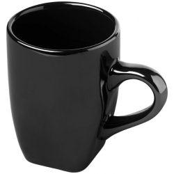 Cosmic 360 ml ceramic mug, Ceramic, solid black