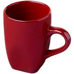 Cosmic 360 ml ceramic mug, Ceramic, Red