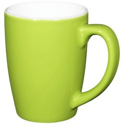 Mendi 350 ml ceramic mug, Ceramic, Lime
