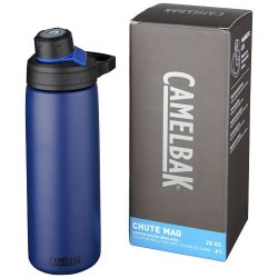 Chute Mag 600 ml copper vacuum insulated bottle, Stainless steel, Navy