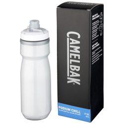 Podium Chill 620 ml sport bottle, PP Plastic, White