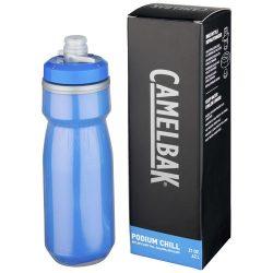 Podium Chill 620 ml sport bottle, PP Plastic, Royal blue