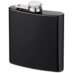 Elixer 175 ml hip flask, Stainless steel,  solid black