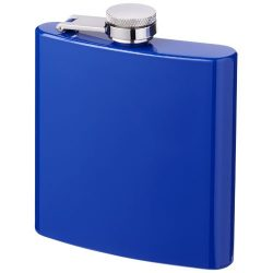 Elixer 175 ml hip flask, Stainless steel, Blue