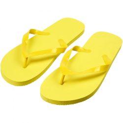 Papuci de plaja, marime 36-38, Everestus, 20FEB1041, Plastic, Galben