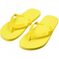 Papuci de plaja, marime 42-44, Everestus, 20FEB1033, Plastic, Galben