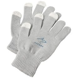 Billy tactile gloves, Acrylic, Dark grey
