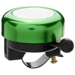 Tringtring aluminium bicycle bell, Aluminium, Green