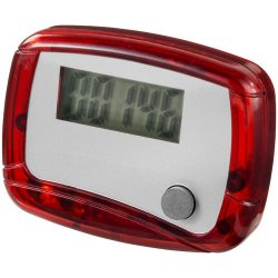 In-shape pedometer step counter, Plastic, Red,White