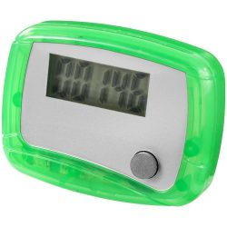 In-shape pedometer step counter, Plastic, Green,White