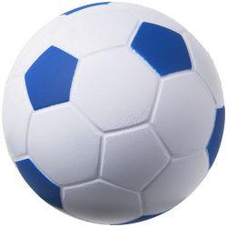 Jucarie antistres Minge de Fotbal, Everestus, ASJ044, poliuretan, albastru, alb