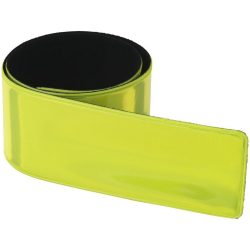 Hitz compliant neon safety slap wrap, PVC, Yellow