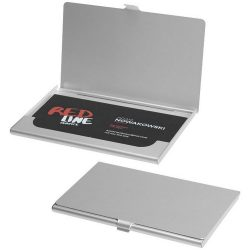 Shanghai business card holder, Aluminium, Silver