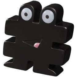 Hashtag stress reliever, PU, solid black