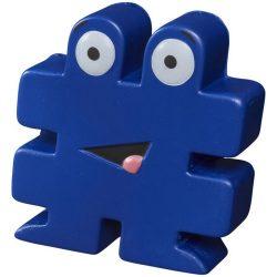 Jucarie antistres Hashtag, Everestus, ASJ061, poliuretan, albastru