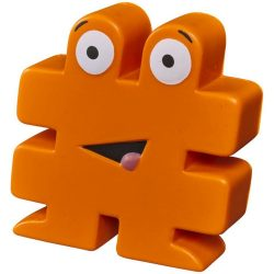 Hashtag stress reliever, PU, Orange