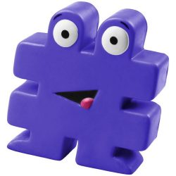 Jucarie antistres Hashtag, Everestus, ASJ065, poliuretan, violet