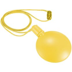 Blubber round bubble dispenser, PE, Yellow