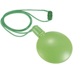 Blubber round bubble dispenser, PE, Lime