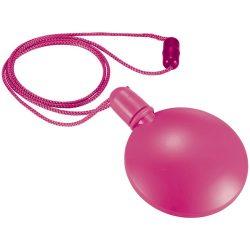 Blubber round bubble dispenser, PE, Fuchsia