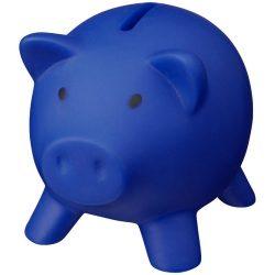 Pusculita porcusor din plastic, 95x73x73 mm, Everestus, MBP12, pvc, polistiren, albastru, radiera inclusa