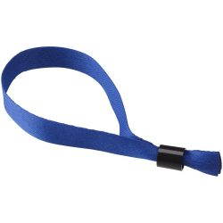 Taggy bracelet with security lock, Polyester, Royal blue