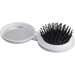 Foldable brush, Plastic, White