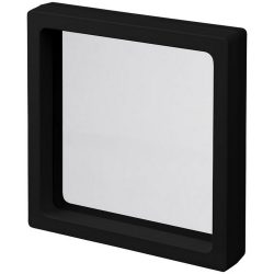 Shrink film gift box, ABS frame with TPU film, solid black