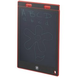 Leo LCD writing tablet, ABS frame and pen, Red