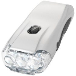 Capella 3-LED torch light, ABS plastic, Silver