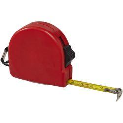 Clark 3 metre measuring tape, ABS plastic, Red