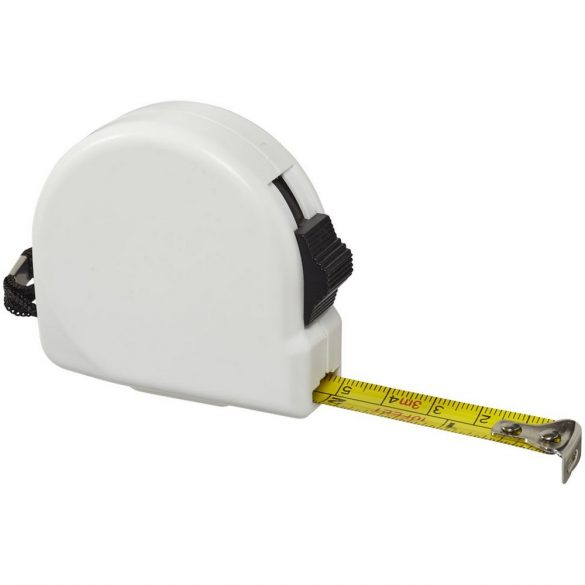 Clark 3 metre measuring tape, ABS plastic, White