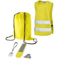 Set de siguranta pentru copii 5 piese, Everestus, SE, poliester, galben