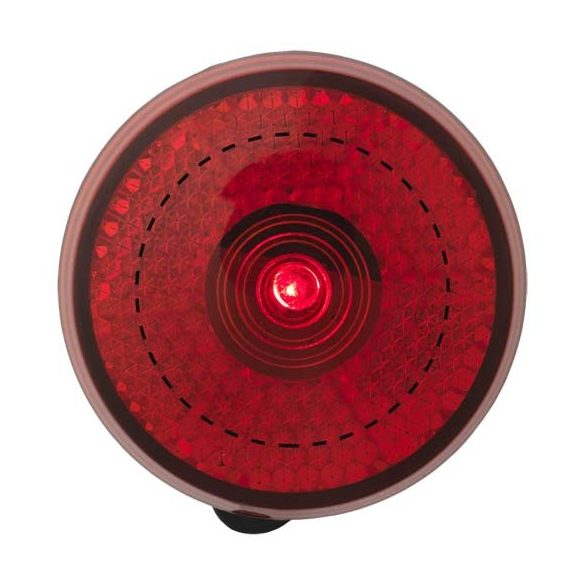 Shini red reflector light, ABS and PP plastic, Red