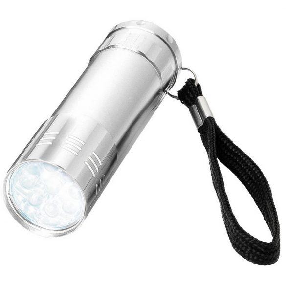 Leonis 9-LED torch light, Aluminium, Silver