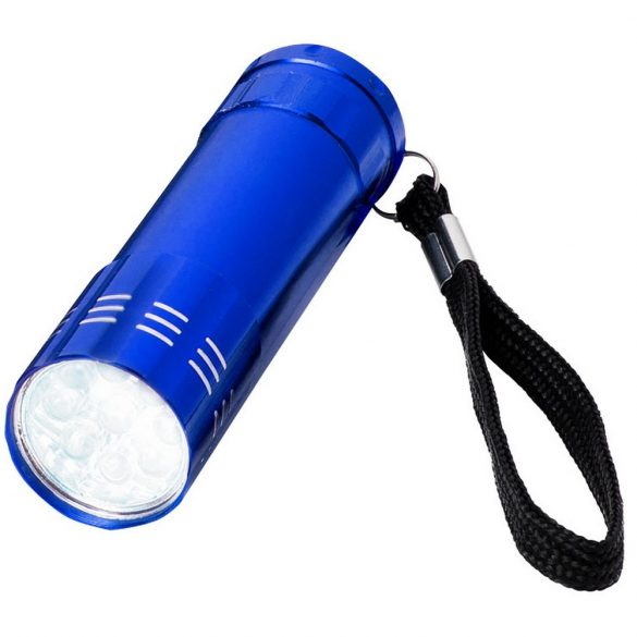 Leonis 9-LED torch light, Aluminium, Blue