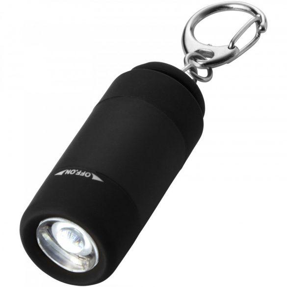 Breloc lanterna cu reincarcare usb, Everestus, KR0071, abs, plastic, negru, laveta inclusa