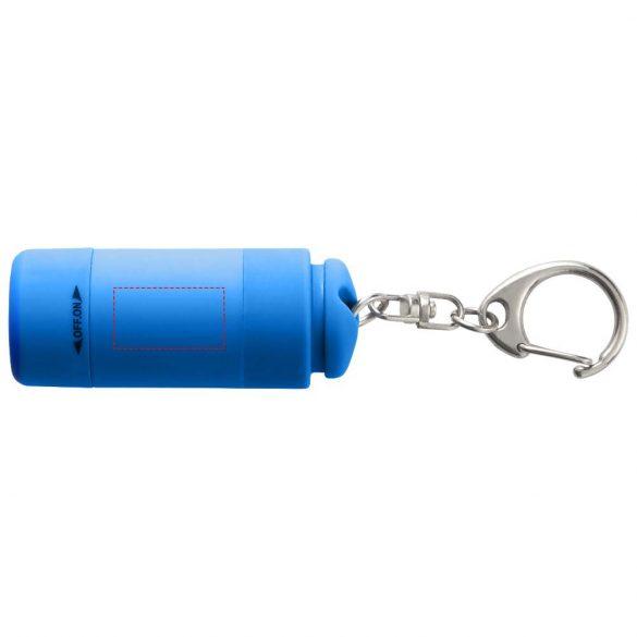 Breloc lanterna cu reincarcare usb, Everestus, KR0072, abs, plastic, albastru, laveta inclusa