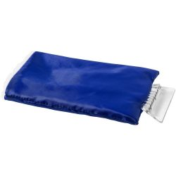 Colt ice scraper with glove, Polyester and plastic, Blue