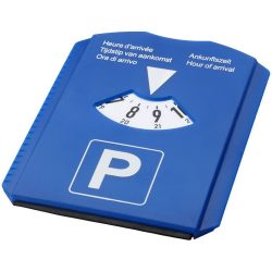 Spot 5-in-1 parking disc, PS plastic, Blue