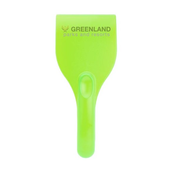 Chilly ice scraper, PS plastic, Lime