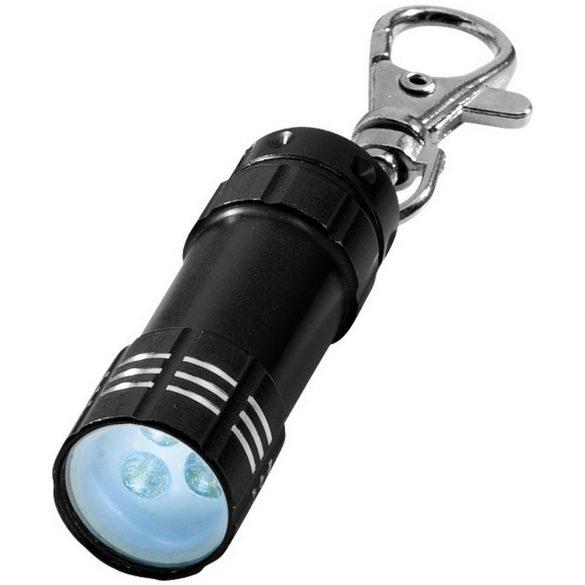 Breloc lanterna, Everestus, KR0070, aluminiu, negru