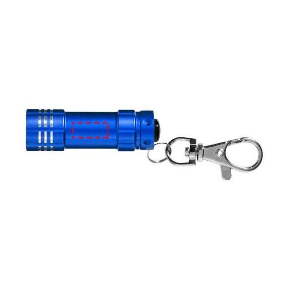Breloc lanterna, Everestus, KR0064, aluminiu, albastru